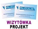 Projekt graficzny WIZYTÓWKI, WIZYTÓWKA, f.vat