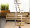 Лестница модульные Atrium мини плюс для 3M Ольха натурально .