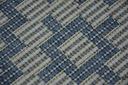 DYWAN SIZAL 120x170 ROMBY blue melanż #B342 Długość 170 cm
