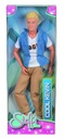 Barbie lalka gimnastyczka BR + Kevin zginane ręce Bohater Barbie