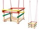 Качели деревянная , Традиционная для детей