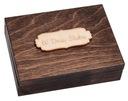 Pudełko drewniane na obrączki vintage ślub GRAWER Dostawa z Polski tak