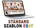 RESPONSYWNY szablon aukcji EBAY - STANDARD, f.vat