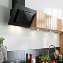 вытяжка Кухня ?????????? Черный стекло LED 60СМ Maan