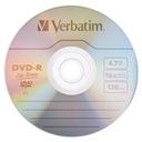 Płyty VERBATIM DVD-R 4,7GB Cake 50 + marker Promoc Producent Verbatim