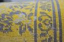DYWAN VINTAGE 140x200 ROZETA żółty TRADYCJA #B100 Szerokość 140 cm