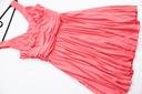 CUDOWNA sukienka plisowana NOWA 38