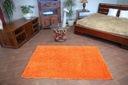 DYWAN SHAGGY 40x90 orange 5cm gładki jednolity Kolor odcienie pomarańczowego