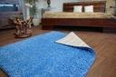 DYWAN SHAGGY 150x200 niebieski 5cm miękki @10241 Materiał wykonania polipropylen