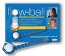 FLOW-BALL do ćwiczeń i gier oddechowych, piłeczka