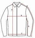 PIERRE CARDIN koszula na krótki rękaw BIAŁA - XXL Kolor biały