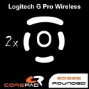 2 x CorePad Ślizgacze do Logitech G Pro Wireless