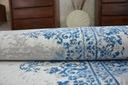 DYWAN VINTAGE 160x230 ROZETA niebieski #B118 Długość 230 cm