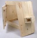 WĘDZARNIA OGRODOWA DREWNIANA Z DRZWICZKAMI DYMBOX Kod produktu Wędzarnia drewniana z Świerku Pan Kornik