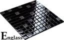 Mozaika szklana czarna 804-ICE NOWOŚĆ