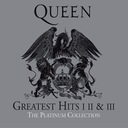 QUEEN Platinum Greatest Hits I-III 3CD