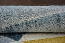 DYWAN NR 200x290 TRÓJKĄTY niebieski żółty #A070 Długość 290 cm