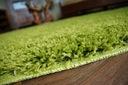 DYWAN SHAGGY 5cm zielony 40x100 gładki jednolity Kształt Prostokąt