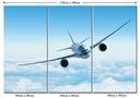 Obraz Lotnictwo Samolot Pasażerski Boeing Airbus