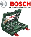 Bosch 91 штук комплект периферии сверла биты V-line