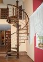 Лестница Вьющиеся ДУДА модель металлочерепица