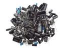 Zestaw kondensatorów elektrolitycznych 120 szt.
