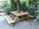 Stół ogrodowy Ławostół piwny 150x170 PRODUCENT Długość (dłuższy bok) 150 cm