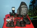 Nikon D80 +2 obiektywy +Lampa +Zestaw SuperCENA MM