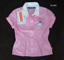Koszula w różową kratkę 86