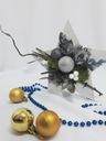 Gwiazda stroik Prezent Święta dekoracja biała