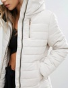 NEW LOOK kurtka pikowana ecru XL 42