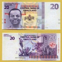 -- SUAZI SWAZILAND 20 EMALANGENI 2010 AA P37 UNC