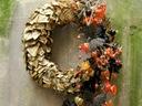 MOTYLA BROSZKA stroik świąteczny dekoracja święta