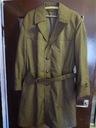 Płaszcz męski khaki z podpinką prochowiec klasyk L