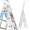Drabina aluminiowa 3x14 KRAUSE PROFESSIONAL 120717