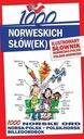 1000 NORWESKICH SŁÓW(EK). ILUSTR. SŁOWNIK W.2015