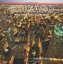 David Mann Chicago Mini Wall Calendar 2017 16 Mont