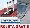 OKNO SKYLIGHT PREMIUM 78x140 + KOŁNIERZ + ROLETA !