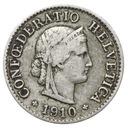 Szwajcaraia - moneta - 5 Rappen 1910 - RZADKA !