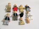 LEGO Star Wars figurki + elementy 7 szt.