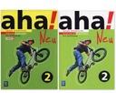 NIEMIECKI Aha Neu 2 podręcznik+CD + ćwiczenie