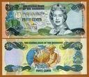 BAHAMY 1/2 dolara 2001 P-68 Elżbieta II UNC