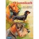 Książka O jamnikach wyd. Mako Press