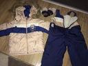 Kurtka zimowa+spodnie zimowe Wójcik r.80cm