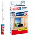 Moskitiera okienna tesa Comfort 1,3m x 1,5m czarna