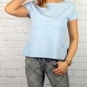 Bluzeczka falbanka S blue