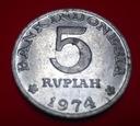 INDONEZJA 5  Rupii 1974 - Program Planowania