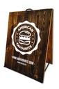 Potykacz reklamowy drewniany - 80x60 cm - NOWOŚĆ!!