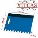 Paca Zębata - Grzebień do Kleju VITCAS