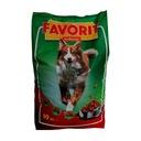 FAVORIT karma dla psów z wołowiną - 30 kg